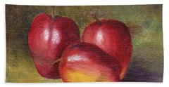 Apple Still Life Beach Towel