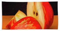 Apple Study 01 Beach Towel by Wally Hampton