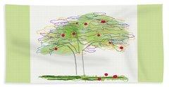 Apple Tree  Beach Sheet