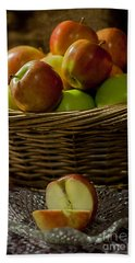 Apples To Share Beach Sheet