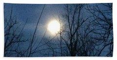 April Moonlight Beach Sheet