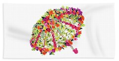 April Showers Bring May Flowers Beach Towel