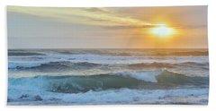 April Sunrise  Beach Sheet