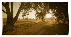 Beach Towel featuring the photograph Apsley Sunrise by Ray Warren