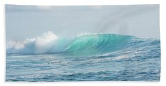 Aqua Cloudbreak Beach Towel