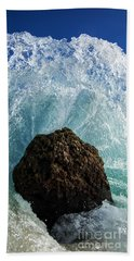 Aqua Dome - Triptych  Part 2 Of 3 Beach Towel
