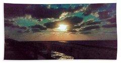 Aqua Moon Beach Sheet