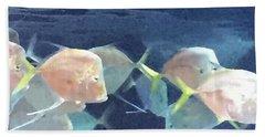 Aquarium Parade Beach Sheet