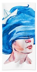 Aquarius Beach Towel