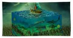 Aquatic Life Beach Towel