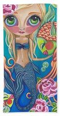 Aquatic Mermaid Beach Towel