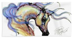 Arabian Mare Beach Towel