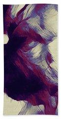 Beach Towel featuring the digital art Arabella 031217 by Matt Lindley