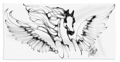 Arabian Angel Beach Towel
