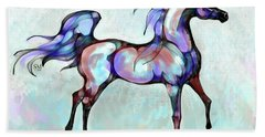 Arabian Horse Overlook Beach Towel