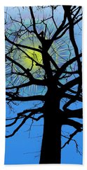 Arboreal Sun Beach Towel