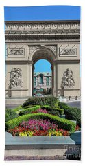 Arc De Triomphe Paris Casino Las Vegas Beach Sheet