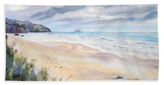 Arcadia Beach, Oregon Beach Towel