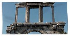 Arch Of Hadrian Beach Towel