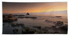 Arch Rock At Little Corona Beach Sheet by Ralph Vazquez