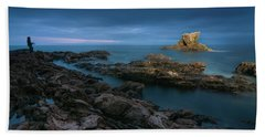 Arch Rock Beach Sheet by Ralph Vazquez
