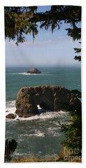 Arch Rock View Beach Sheet