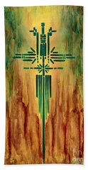 Archangel Michael Beach Towel