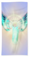 Archangel Uriel - Pastel Beach Towel