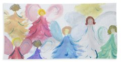 Archangels    Malchei Roshei Beach Towel