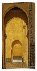 Arched Doors Beach Towel
