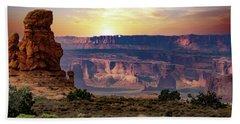 Arches National Park Canyon Beach Towel