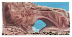 Arches National Park Beach Sheet by Walter Colvin