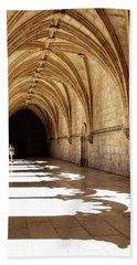 Arches Of Jeronimos Beach Sheet by Marion McCristall