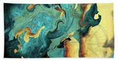 Archipelago Beach Towel by Deborah Smith