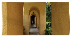 Beach Towel featuring the photograph Archway by Gary Wonning