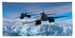 Arctic Blitz Beach Towel