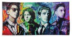 Arctic Monkeys Beach Towel