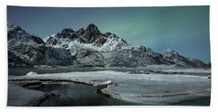 Arctic Night II Beach Towel