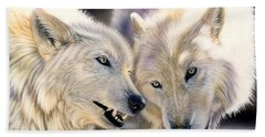 Arctic Pair Beach Towel
