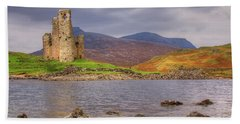 Ardvreck Castle Beach Towel