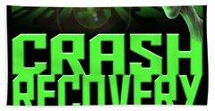 Area 51 Crash Recovery Team Beach Towel