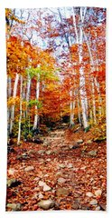 Arethusa Falls Trail Beach Towel