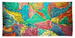 Argungun Fishing Festival Beach Towel by Bankole Abe