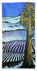 Beach Towel featuring the painting Arise And Shine by Nathan Rhoads