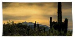 Arizona And The Sonoran Desert Beach Sheet
