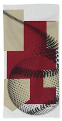 Arizona Diamondbacks Art Beach Towel by Joe Hamilton