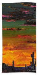 Arizona Sunset Beach Towel