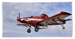 Arkansas Razorbacks Crop Duster Beach Towel