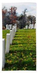 Arlington National Cemetery Hill Beach Towel