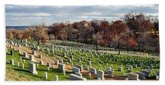 Arlington National Cemetery Hillside Beach Towel
